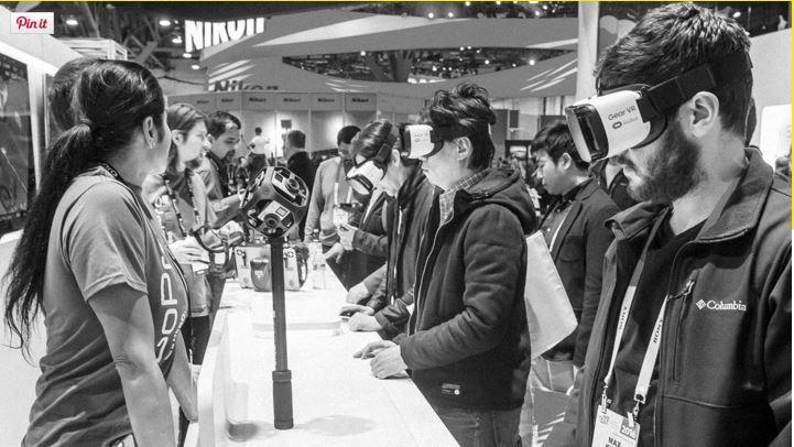 I visori VR sono lo strumento attraverso il quale ci rapportiamo alla realtà aumentata
