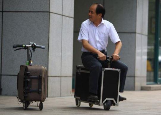 la valigia elettrica era  stata già realizzata da un cinese