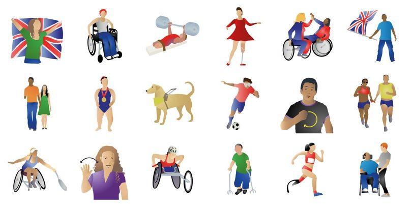 Le emoji per le Paralimpiadi