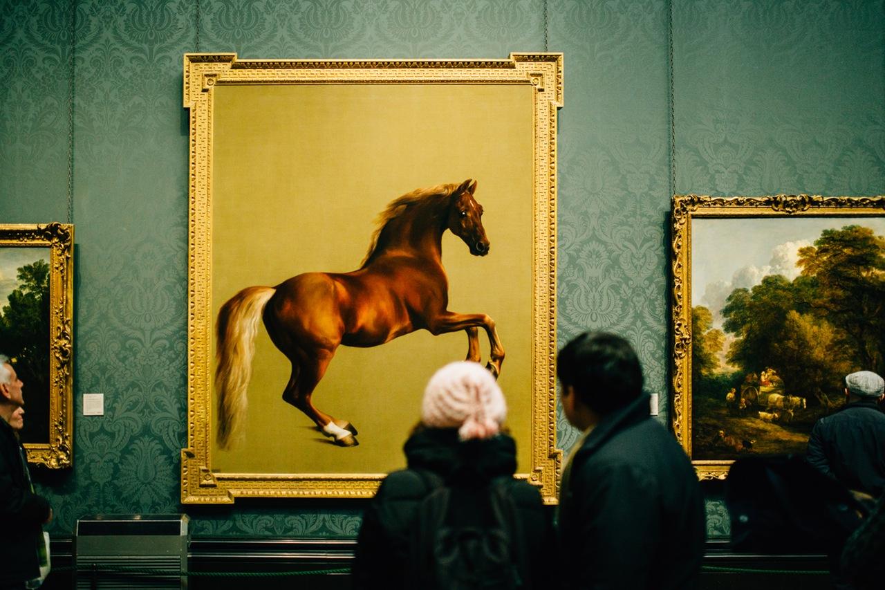 Google Arts&Culture: dipinto di un cavallo