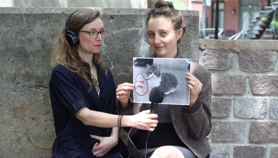 Love me podcast: Mira Burt-Wintonick e Cristal Dahaime