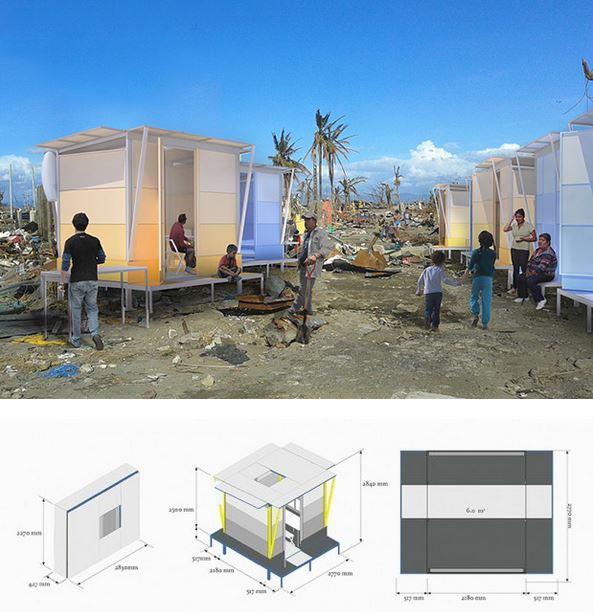 architettura sostenibile:Living Shelter