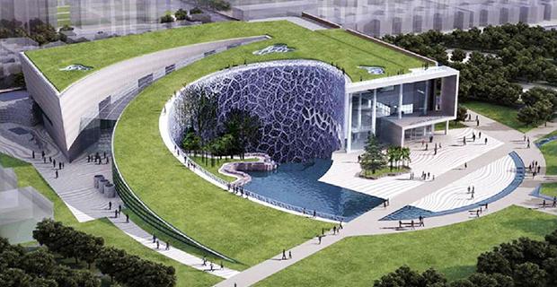 museo-storia-shanghai-biomimetica
