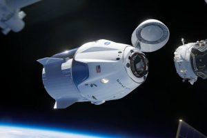 simulatore d'attracco spacex